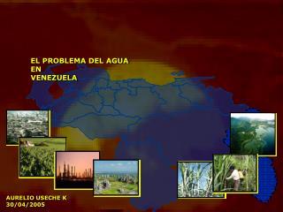 EL PROBLEMA DEL AGUA EN  VENEZUELA