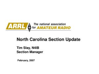 North Carolina Section Update