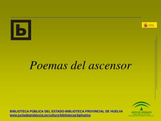 Poemas del ascensor