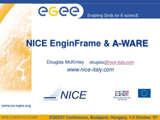NICE EnginFrame &  A-WARE