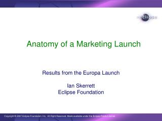 Anatomy of a Marketing Launch