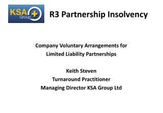 R3 Partnership Insolvency