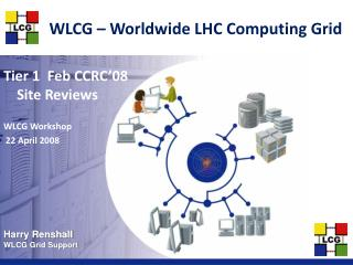 WLCG – Worldwide LHC Computing Grid
