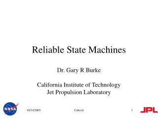 Reliable State Machines