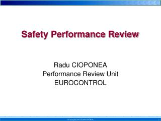 Safety Performance Review