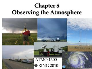 Chapter 5 Observing the Atmosphere