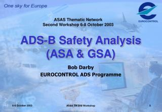 ADS-B Safety Analysis  (ASA & GSA)
