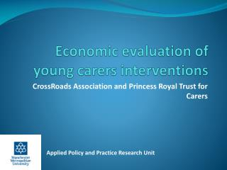 Economic evaluation of young carers interventions