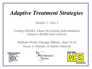 Adaptive Treatment Strategies
