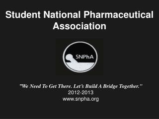 Student National Pharmaceutical Association