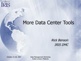 More Data Center Tools