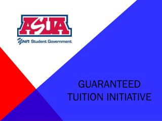Guaranteed Tuition Initiative