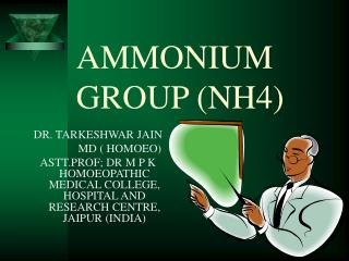 AMMONIUM GROUP (NH4)