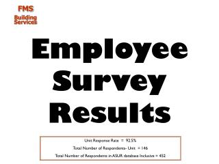 Employee Survey Results