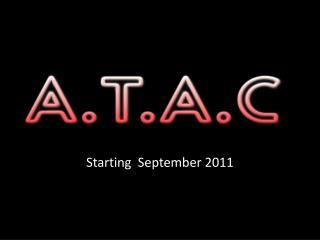 Starting September 2011