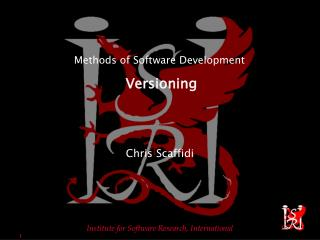 Methods of Software Development Versioning