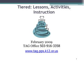 Tiered: Lessons, Activities, Instruction