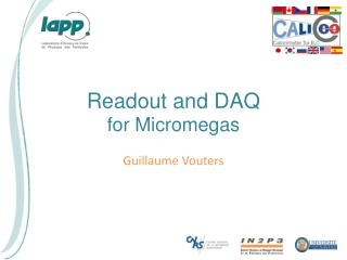 Readout and DAQ  for  Micromegas