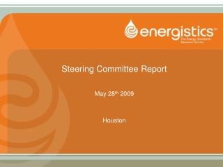 Steering Committee Report