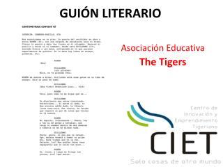 GUIÓN LITERARIO