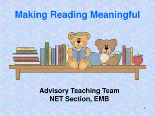 Making Reading Meaningful