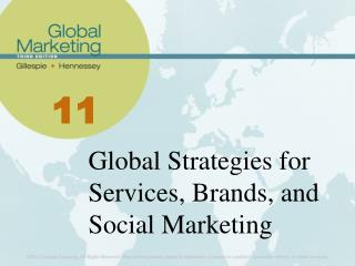 Global Strategies for Services, Brands, and Social Marketing