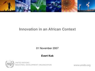 Innovation in an African Context