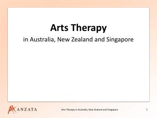 Arts Therapy in Australia, New Zealand and Singapore