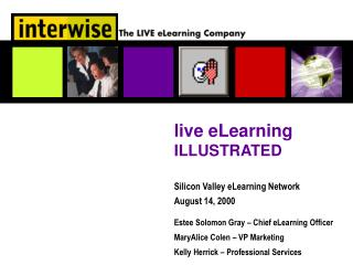 live eLearning  ILLUSTRATED