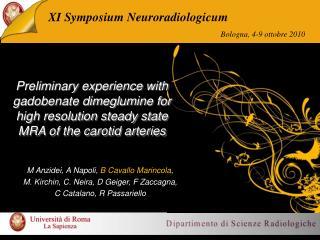 XI Symposium Neuroradiologicum