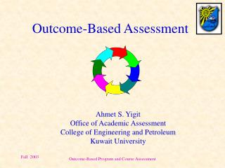 Outcome-Based Assessment