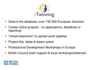 Search the database: over 150,000 European teachers
