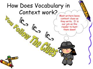 How Does Vocabulary in Context work?
