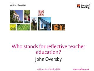 Who stands for reflective teacher education?
