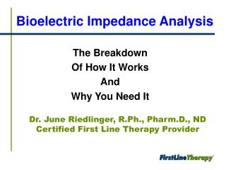 Bioelectric Impedance Analysis