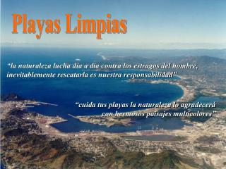 Playas Limpias