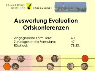 Auswertung Evaluation Ortskonferenzen