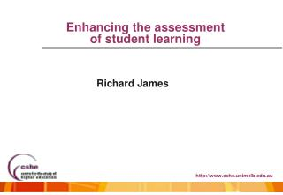 Enhancing the assessment  of student learning