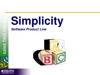 Simplicity Software Product Line