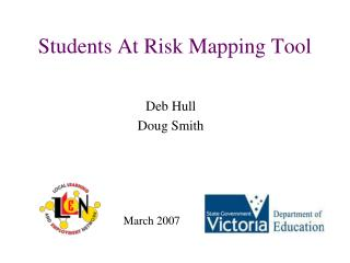 Students At Risk Mapping Tool