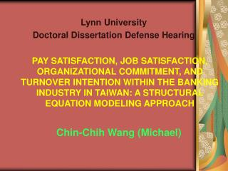 Chin-Chih Wang (Michael)
