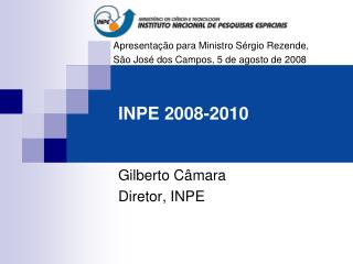 INPE 2008-2010