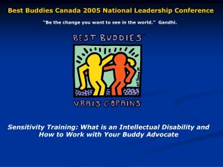 Sensitivity Training: What is an Intellectual Disability and How to Work with Your Buddy Advocate