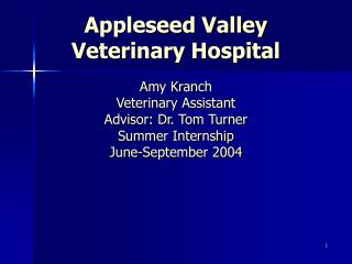 Appleseed Valley Veterinary Hospital
