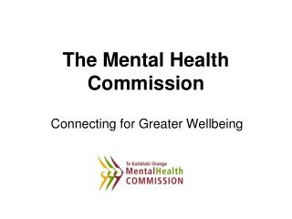 The Mental Health Commission