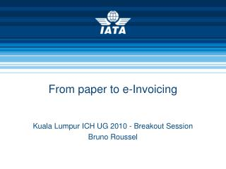 From paper to e-Invoicing