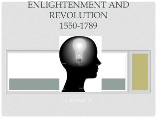 Enlightenment and Revolution 1550-1789