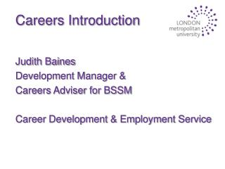 Careers Introduction