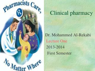 Clinical pharmacy