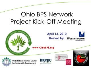 Ohio BPS Network Project Kick-Off Meeting
